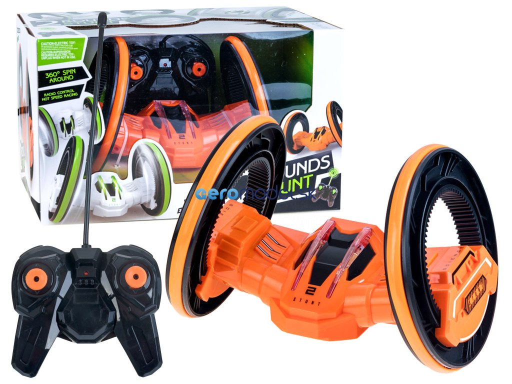 eng pl Futuristic glowing stunt RC rotary 360 RC0233 9667 1