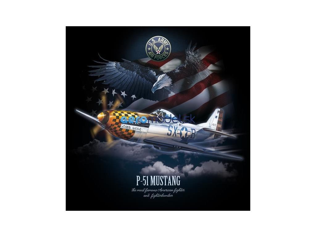 Antonio pánské tričko P-51 Mustang ANT0212600117