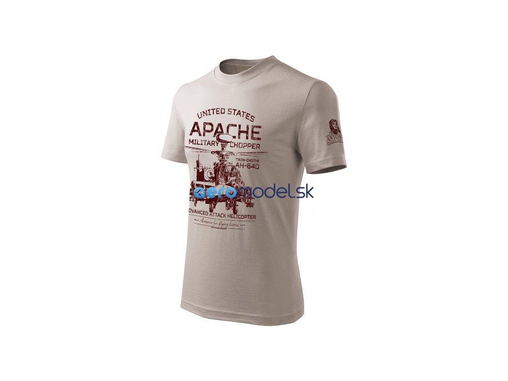 Antonio pánské tričko Apache AH-64D ANT0212905113