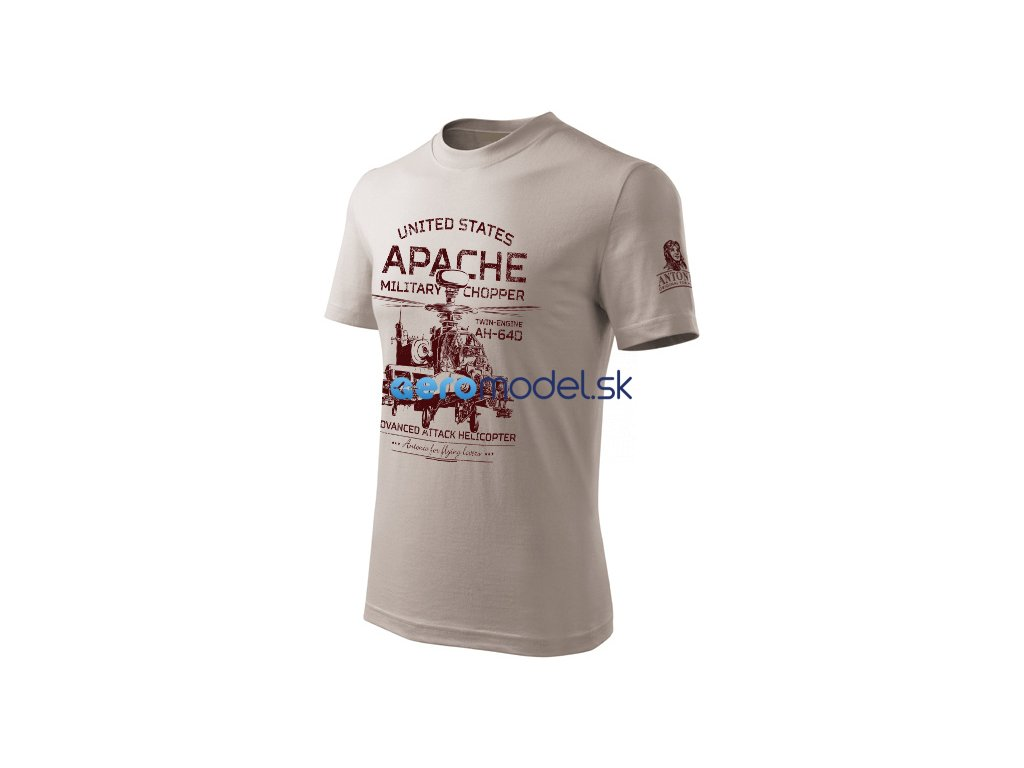 Antonio pánské tričko Apache AH-64D ANT0212905114