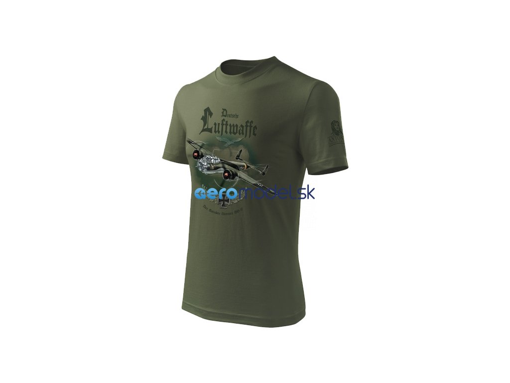 Antonio pánské tričko Dornier DO-17 ANT0213200914