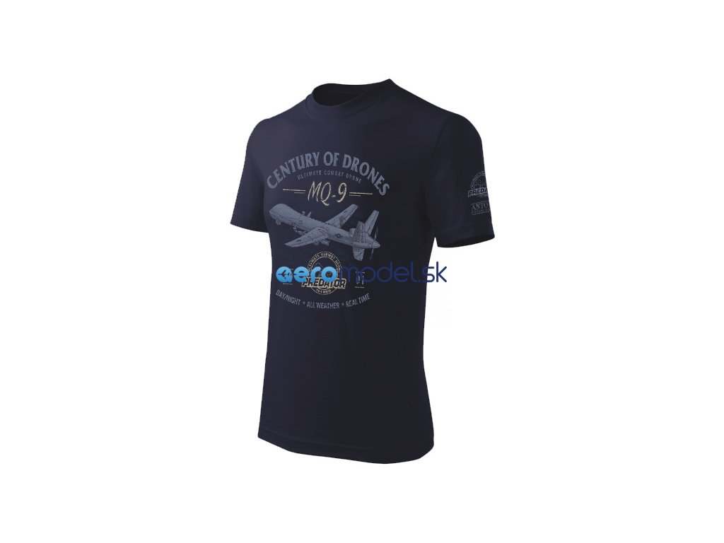 Antonio pánské tričko Dron MQ-9 Reaper ANT0213400213