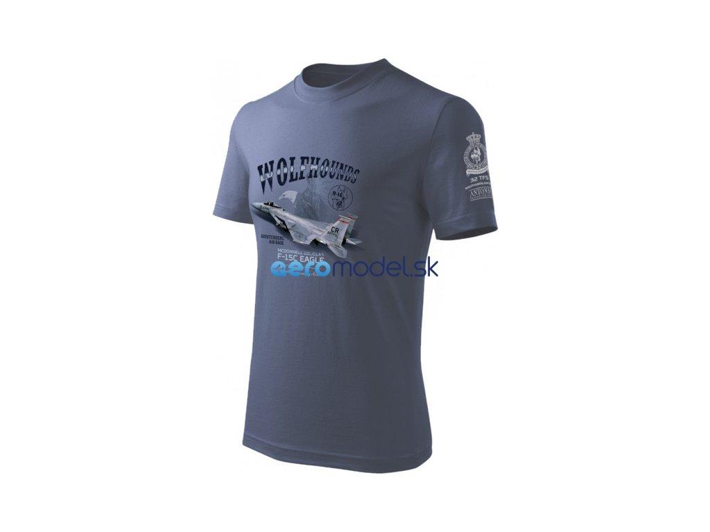 Antonio pánské tričko F-15C Eagle ANT0213919317