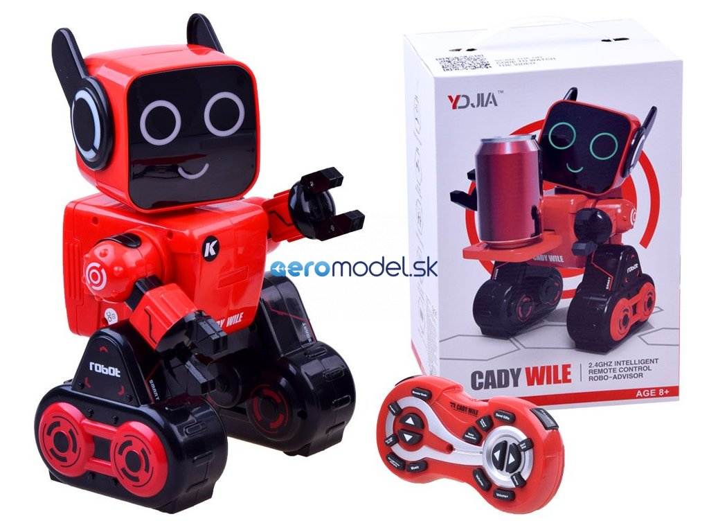eng pl Intelligent ROBOT CADY WILE Piggy bank RC0445 13597 1