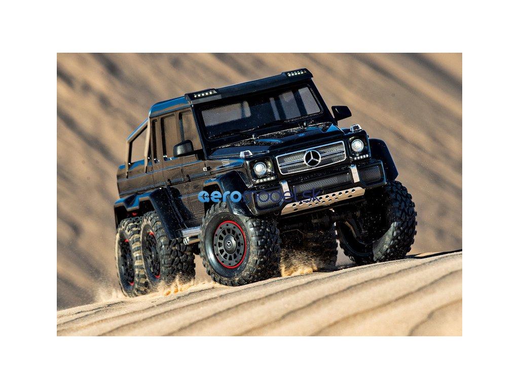 Traxxas TRX-6 Mercedes G 63 6x6 1:10 TQi RTR TRA88096-4-SLV