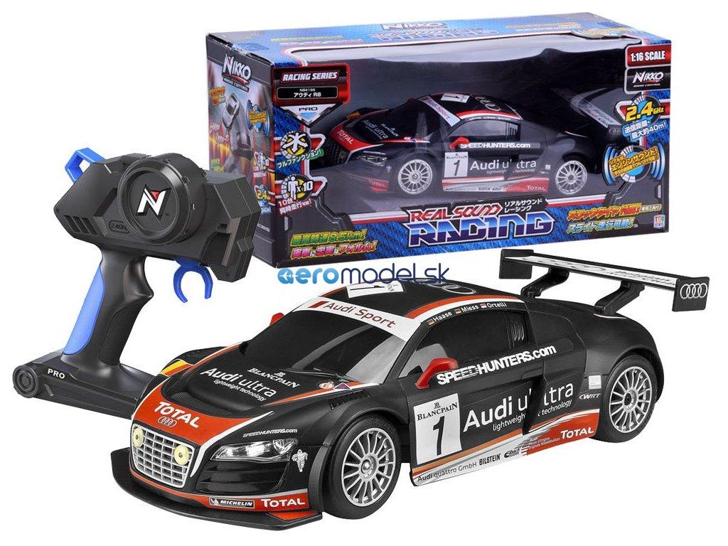 Nikko Audi R8 rc auto 2,4 GHz 1:16