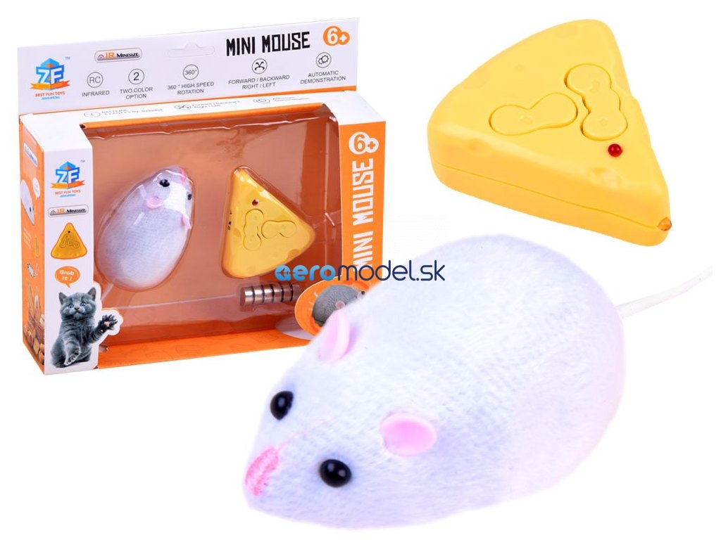 eng pl Mouse remote controlled RC0473 14423 1