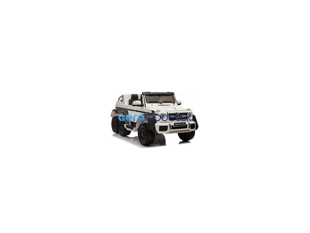 pol pm Pojazd Na Akumulator Mercedes 6x45W Bialy 4094 1