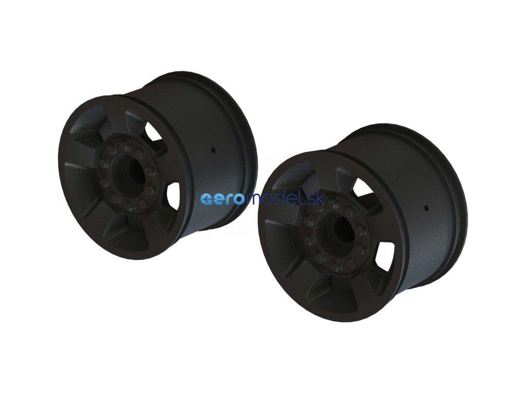 """Arrma disk kola 2.8"""" 14mm černý (2) ARA510116"""