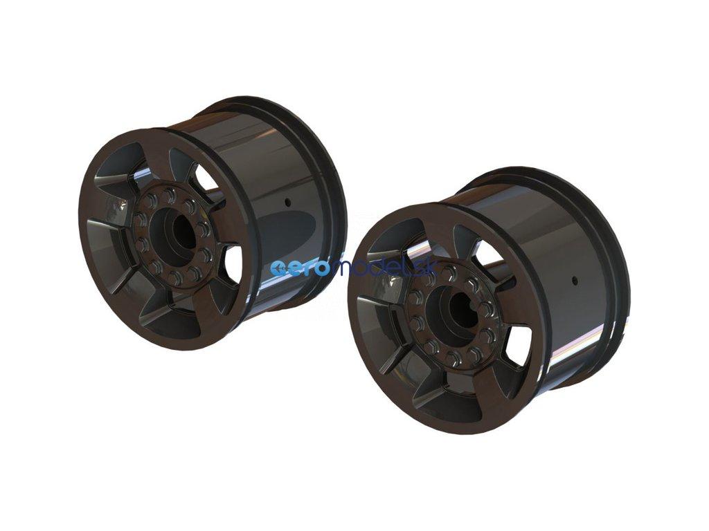 """Arrma disk kola Mt 2.8"""" 14mm černý chrom (2) ARA510117"""