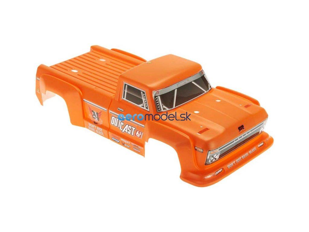 Arrma karosérie oranžová: Outcast 6S ARAC3312