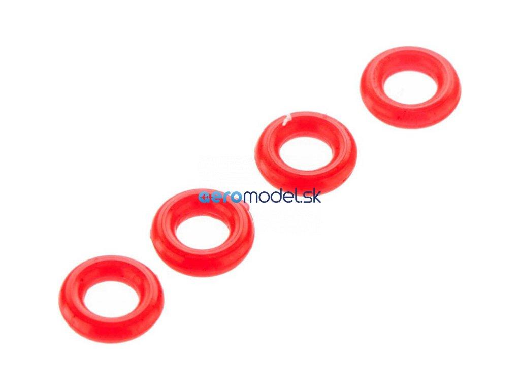 Arrma O-kroužek P-3 3.5x1.9mm červený (4) ARAC7451