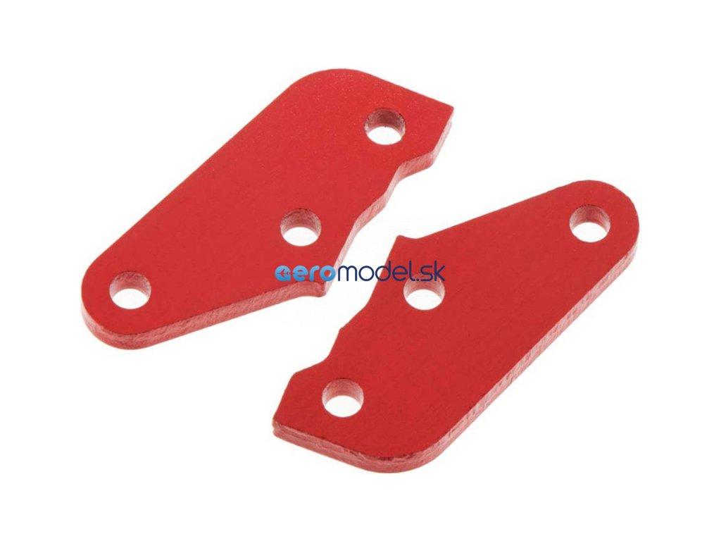 Arrma příčka řízení A hliníková červená (2) ARAC9363