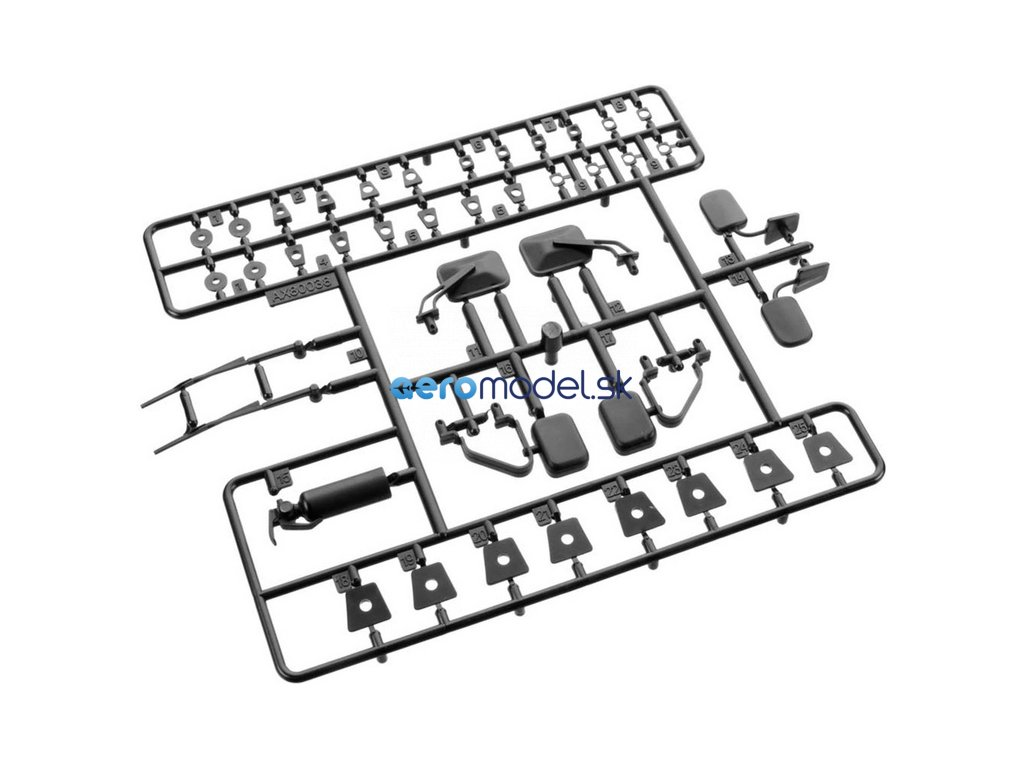 Axial plastové díly exteriéru AXIC0038
