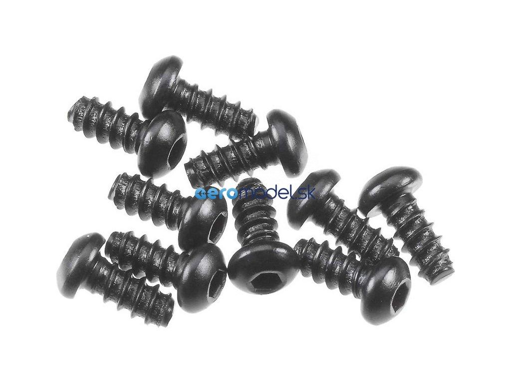 Axial vrut imbus 2.6x6mm BH (10) AXIC0422