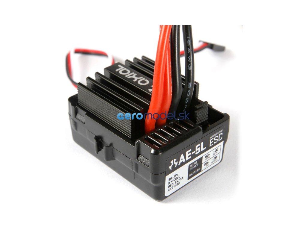 Axial regulátor AE-5L s LED portem AXIC1480