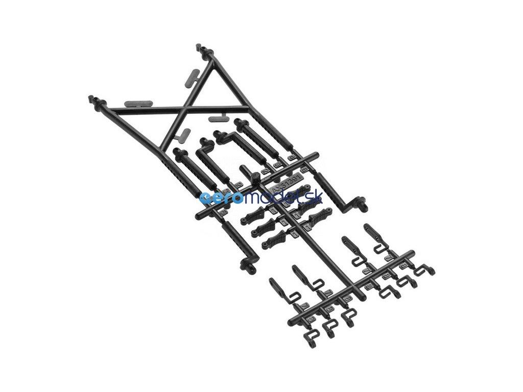 Axial držáky karosérie: SCX10 II AXIC3191