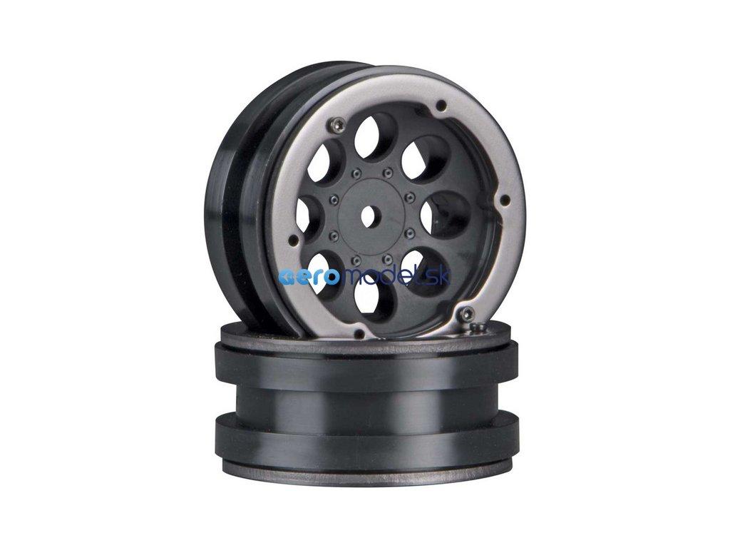 """Axial disk 1.9"""" Beadlock 8-otvorů černý (2) AXIC8087"""