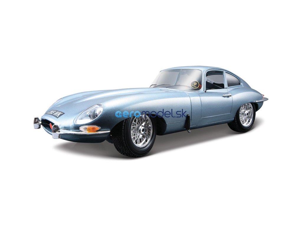 Bburago Jaguar E-type Coupe 1:18 stříbrná BB18-12044