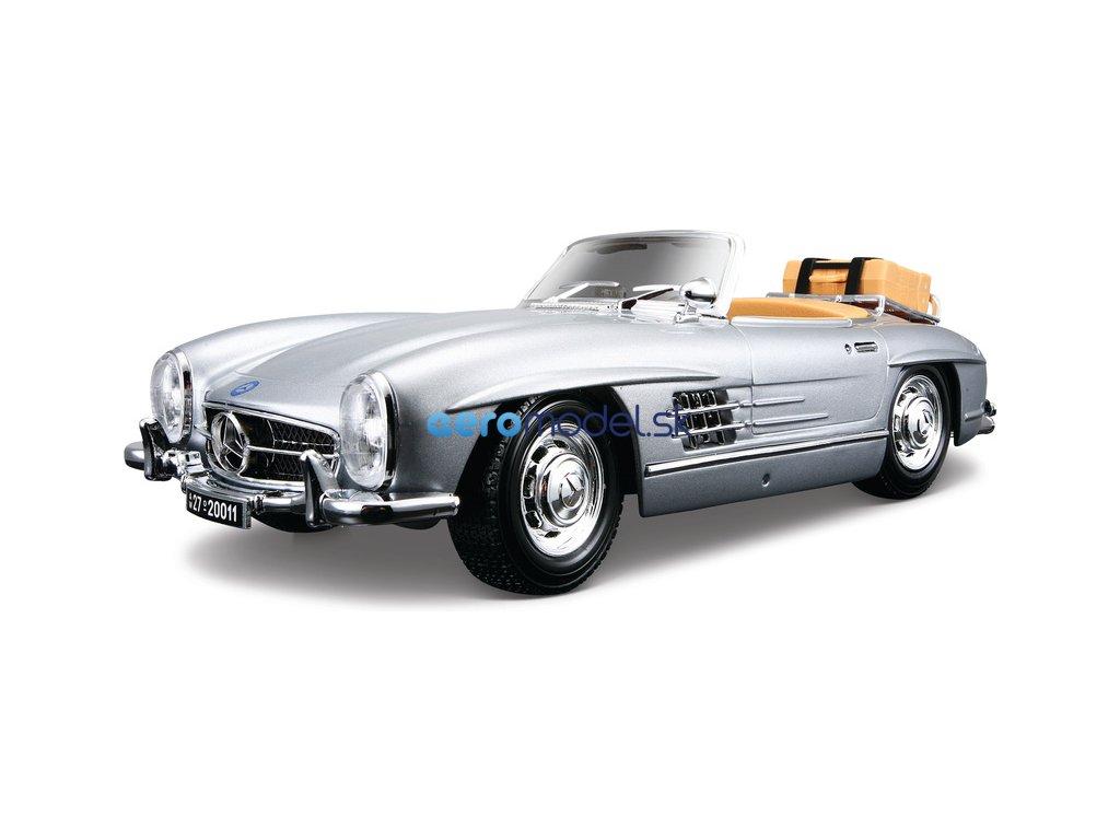 Bburago Mercedes-Benz 300 SL Touring 1957 1:18 stříbrná BB18-12049S