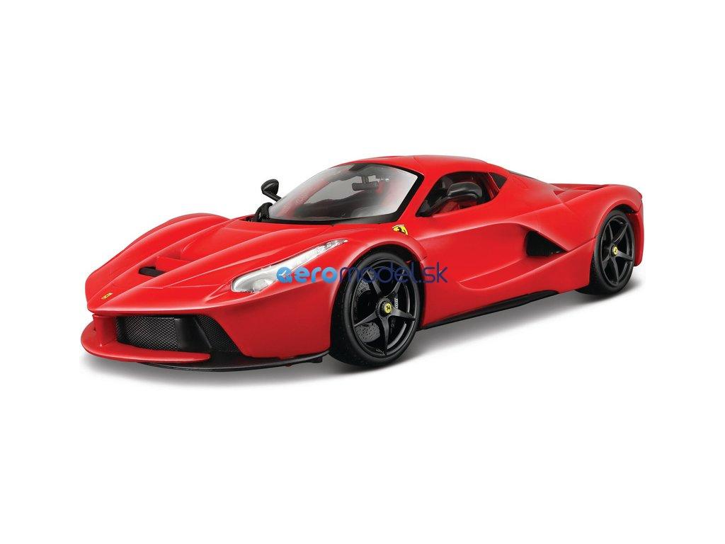 Bburago Ferrari LaFerrari 1:18 červená BB18-16001R