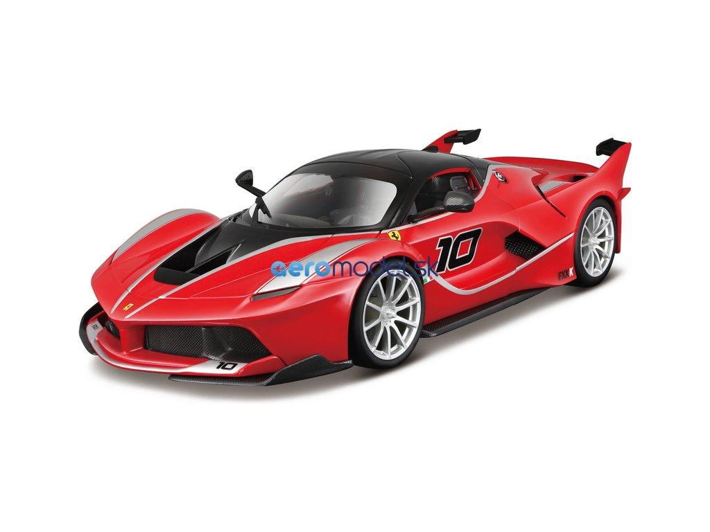 Bburago Ferrari FXX K 1:18 červená metalíza BB18-16010R