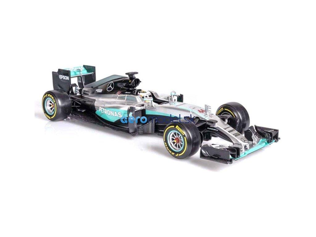 Bburago Plus Mercedes AMG Petronas W07 1:18 Hamilton BB18-18001H