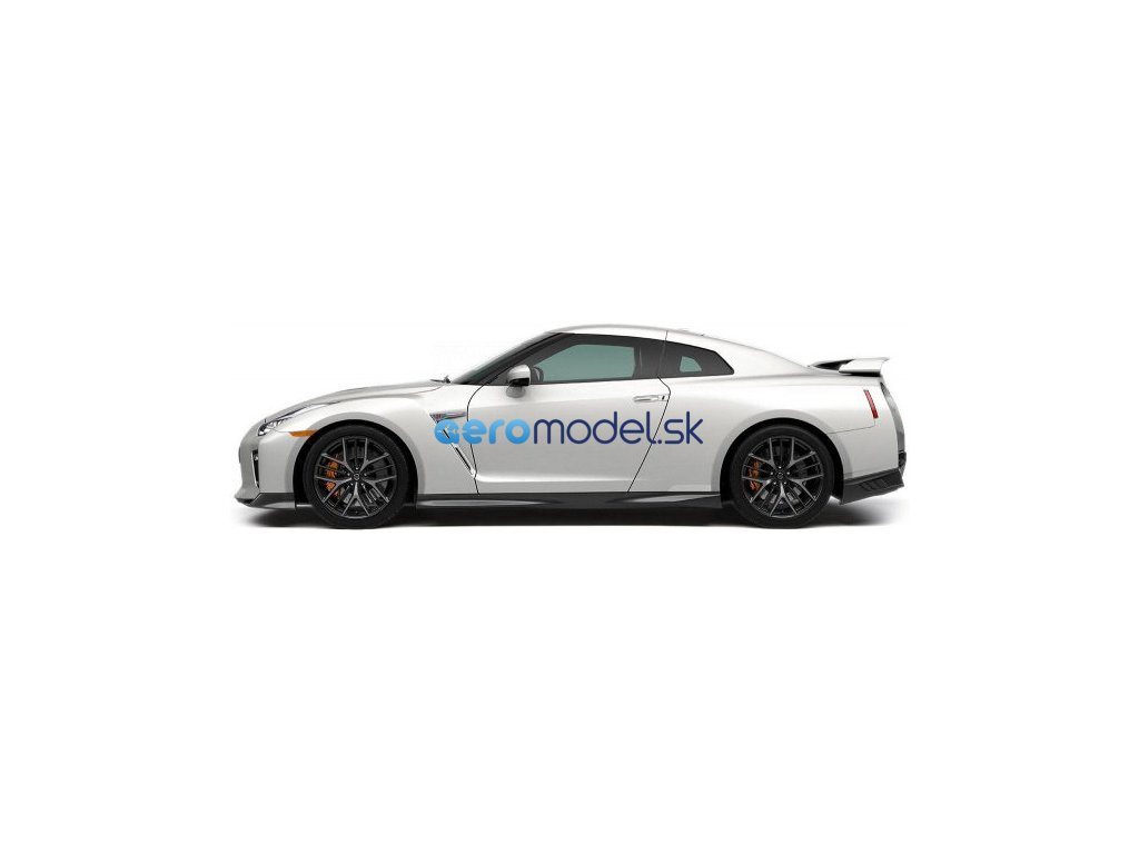 Bburago Plus Nissan GT-R 1:24 bílá metalíza BB18-21082W