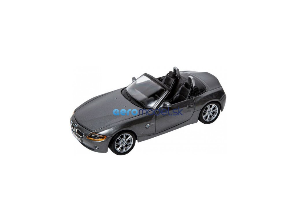 Bburago BMW Z4 1:24 šedá BB18-22002G