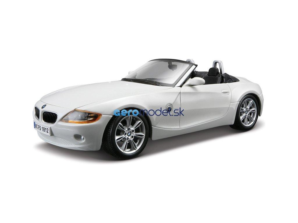 Bburago BMW Z4 1:24 bílá BB18-22002W