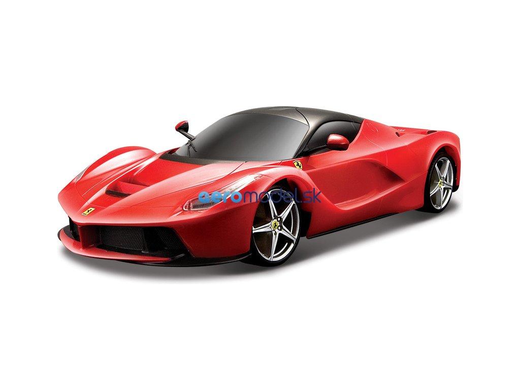 Bburago Ferrari LaFerrari 1:24 červená BB18-26001R