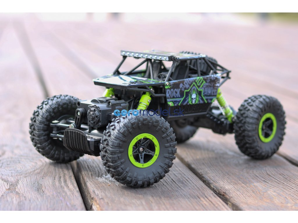 ROCK CRAWLER 4WD 1:18 Zelená farba