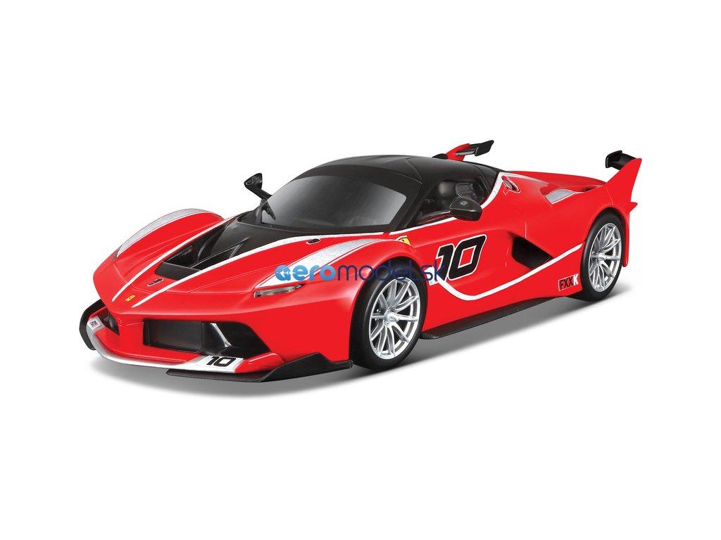 Bburago Ferrari FXX K 1:24 červená BB18-26301R