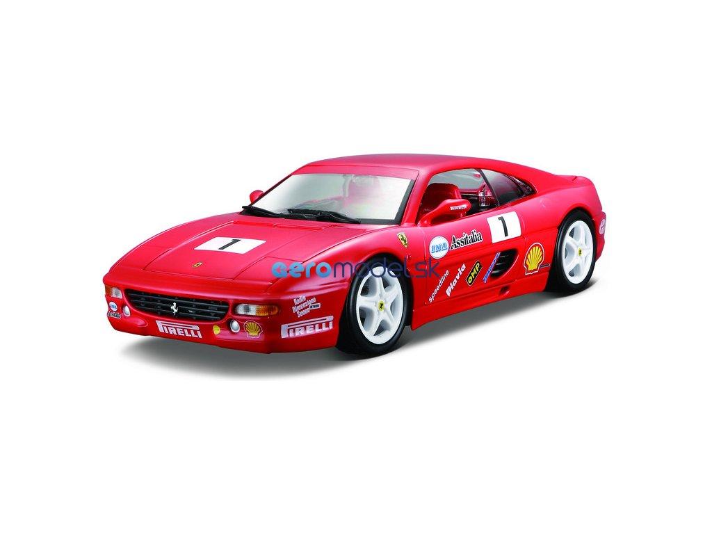 Bburago Ferrari F355 Challenge 1:24 červená BB18-26306