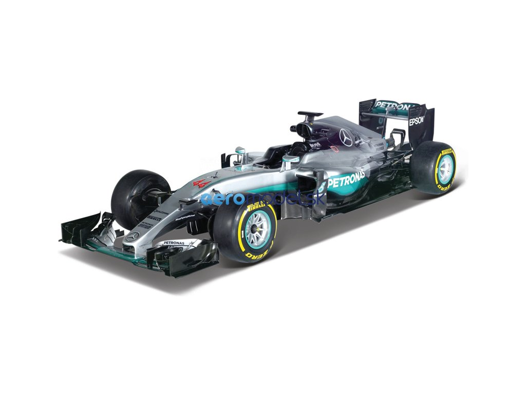 Bburago Mercedes W07 1:43 #44 Hamilton BB18-38026