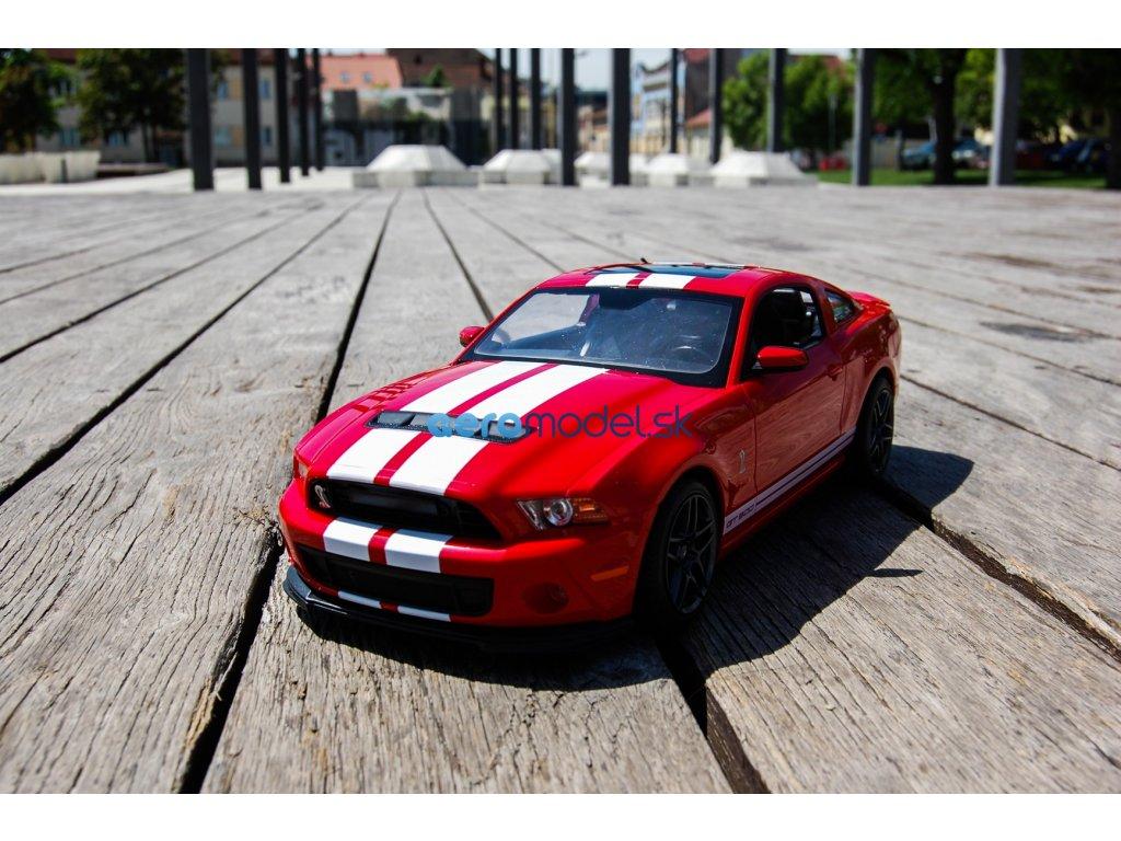 Rastar Ford Mustang Shelby GT500 1:14 červený