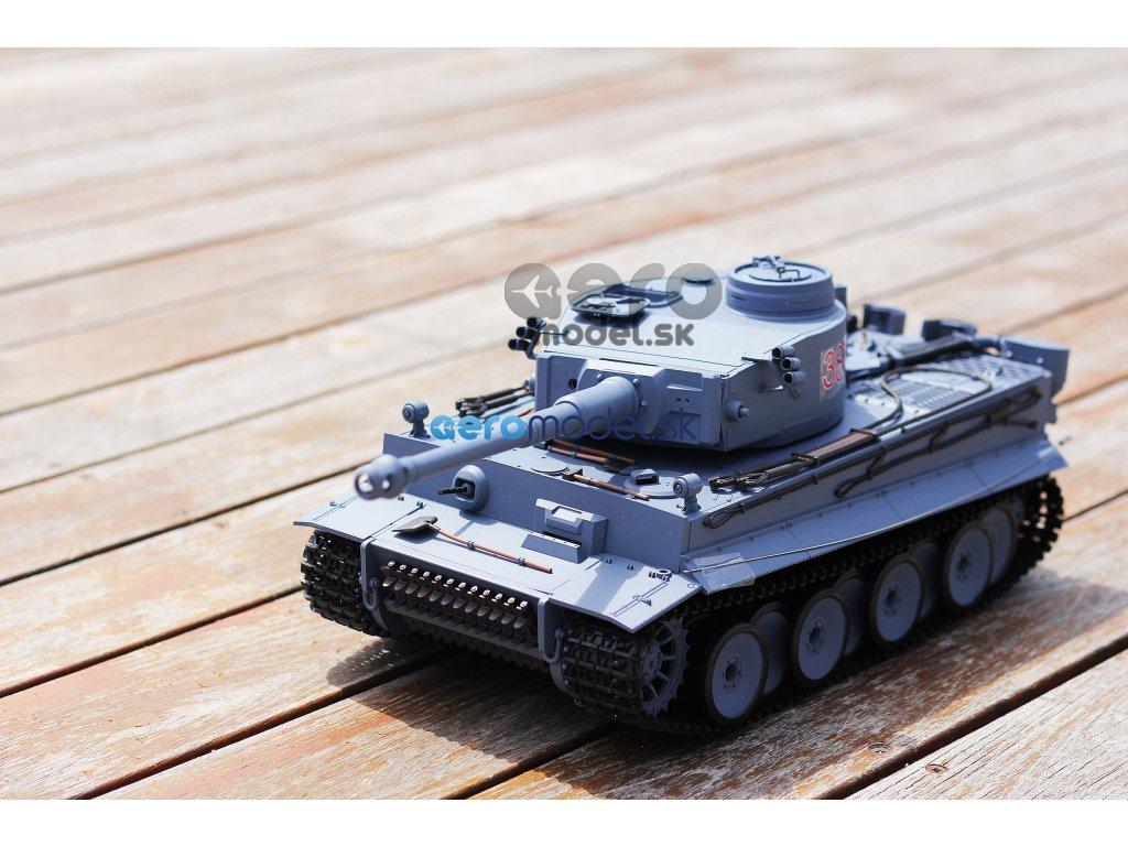 RC TANK 1:16 German Tiger I (dym, zvuk, airsoft)
