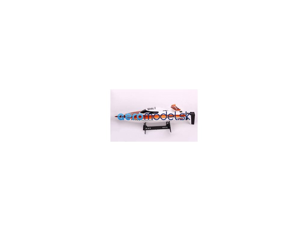 Závodný rýchlostný RC čln FT009, oranžová