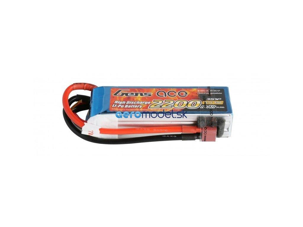 Batéria 2200mAh 11.1V 45C