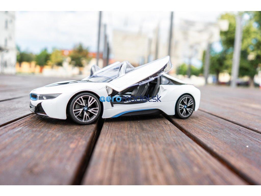 RC AUTO BMW I8 BIELE