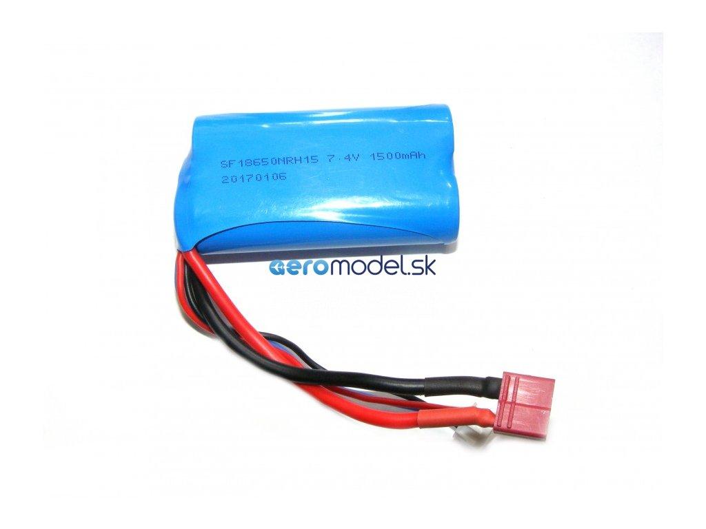 Náhradný akumulátor 7,4V 1500mAh