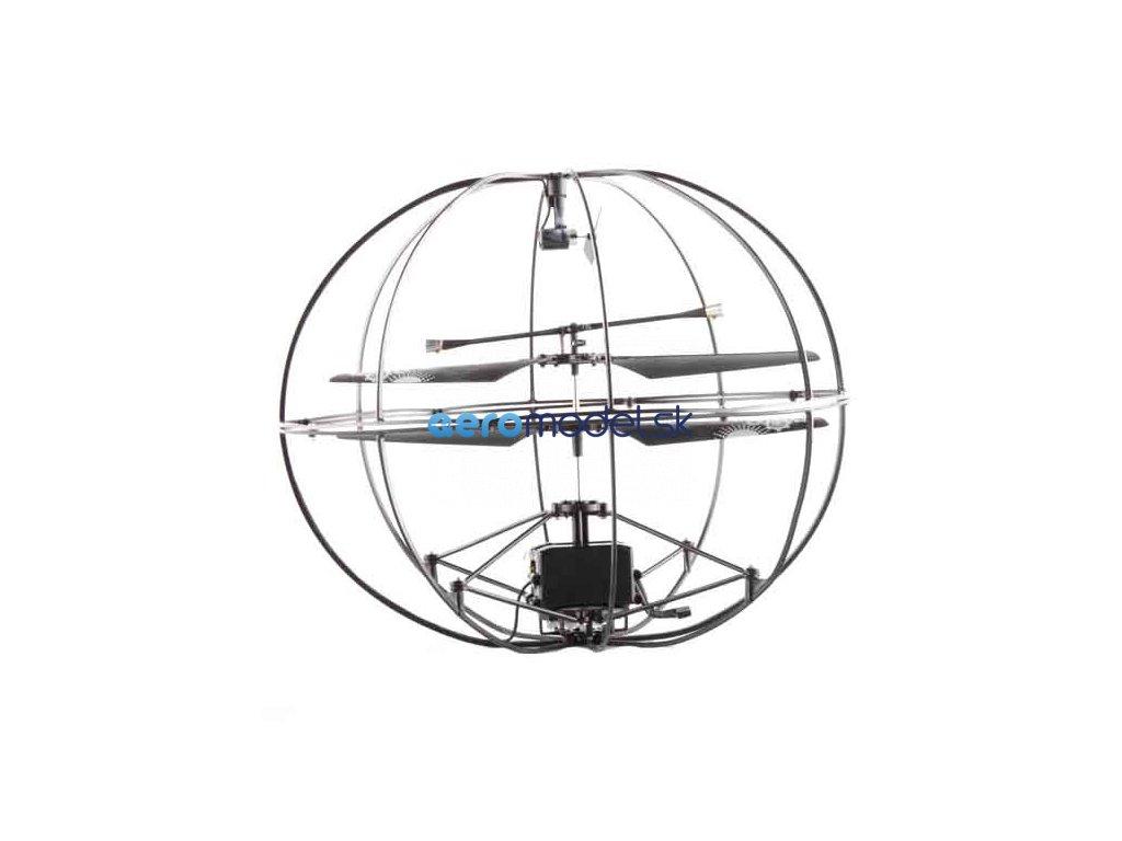 RC Vrtuľník Guľa aerocraft - IR