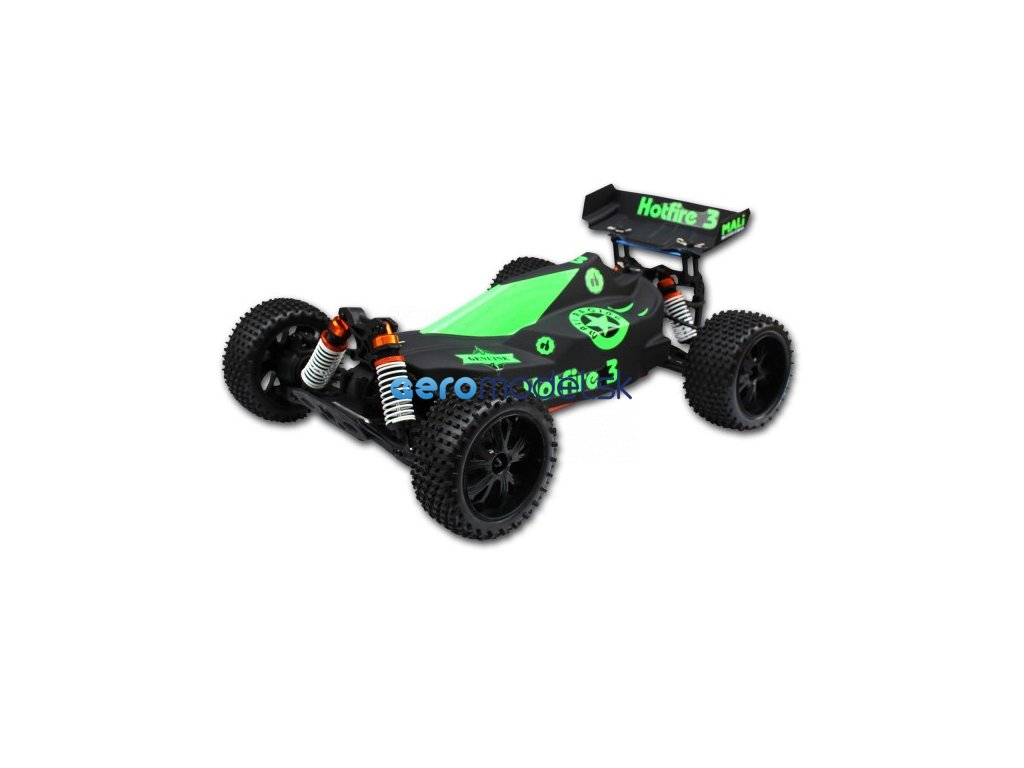 Hot Fire Buggy 5, 1:10 XL RC Brushless auto RTR vodeodolné