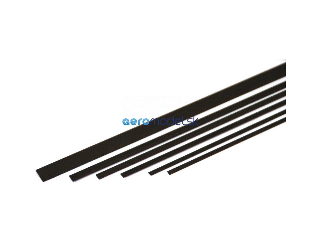 ASTRA Uhlíková pásnice 0.6x3.0mm (1m) A1215