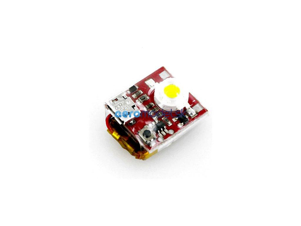 ASTRA LED stroboskopické světlo červené A6057
