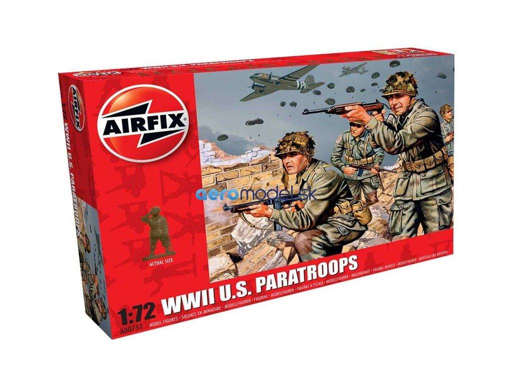 Airfix figurky - WWII US výsadkáři (1:72) AF-A00751