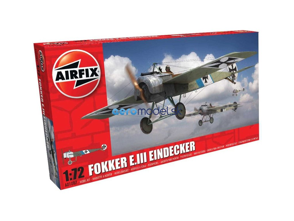 Airfix Fokker E.III Eindecker (1:72) AF-A01087