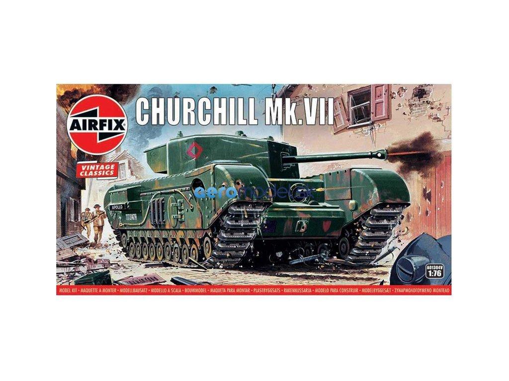 Airfix Churchill Mk.VII (1:76) (Vintage) AF-A01304V