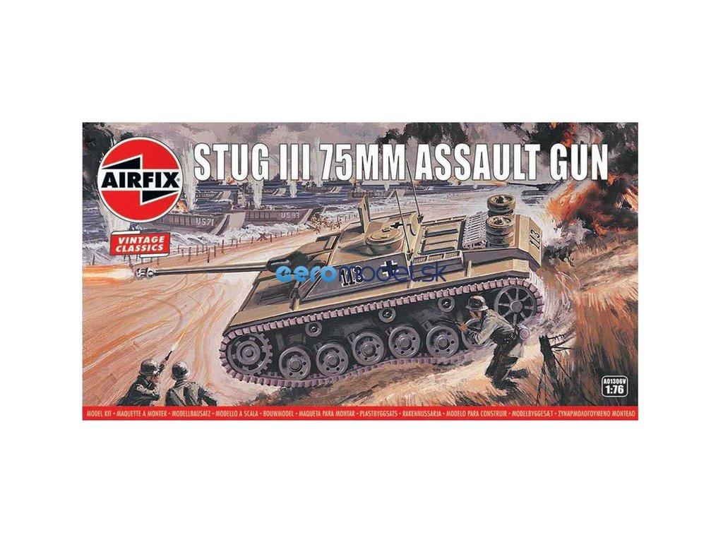 Airfix Stug III 75mm (1:76) (Vintage) AF-A01306V