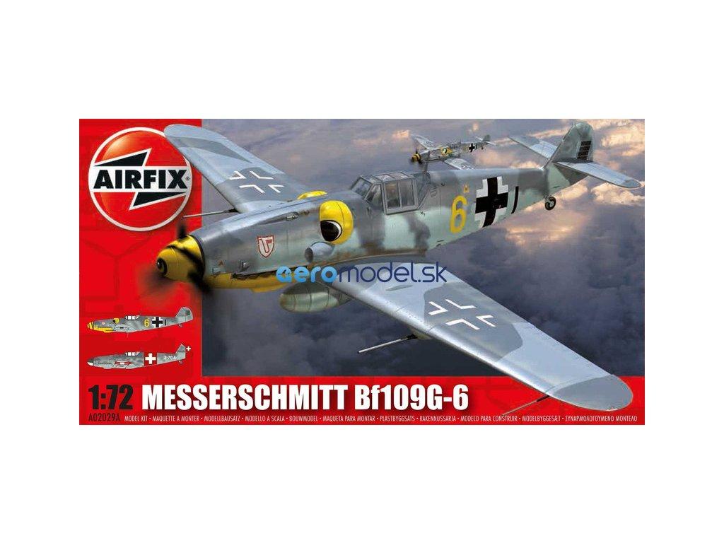 Airfix Messerschmitt Bf-109G-6 (1:72) AF-A02029A